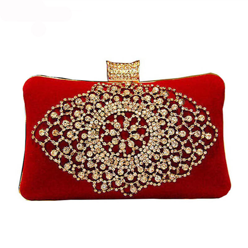 Online Get Cheap Red Clutches Evening Bags -Aliexpress.com ...