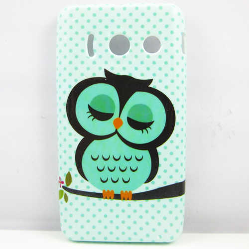 for Huawei Ascend Y300 Case Cover Cute Owl Mobile Protective for Huawei Ascend Y300 T8833 U8833 Phone Cases TPU Soft
