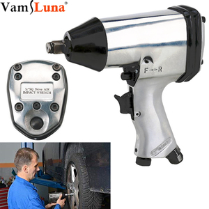 1/2 Inch Air Impact Wrench Pneumatic SpannerAdjustable Socket Wrench Set Power Regulator Hand Tool 7000 RPM No-Load Speed