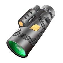 Монокуляр 12x50 мощный бинокль высокое качество зум большой ручной телескоп lll ночное видение военный HD Профессиональный Охота