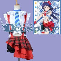 Love live Sonoda Umi cos dress first season op ver Now we Cosplay Costume Halloween Costume for adult