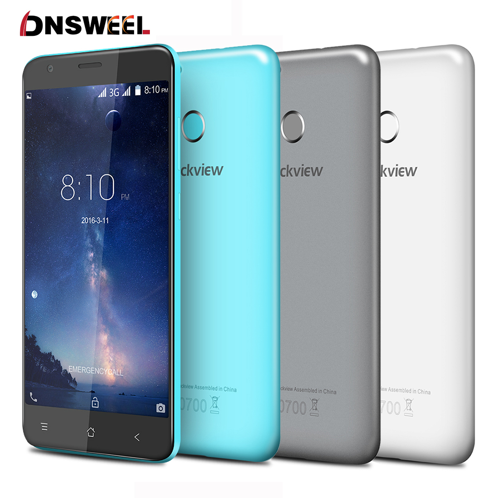 bilder für Blackview e7s handy mt6580 quad core android 6.0 mobile telefon 5,5 zoll IPS HD 2 GB + 16 GB 8MP GPS 3G Smartphone Fingerabdruck ID