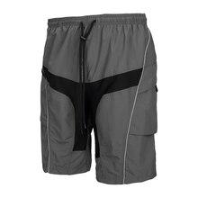 Santic Detachable Cushion ropa deportiva men Padded Cycling MTB Downhill Shorts Professional maillot invierno mtb C05018