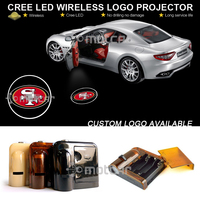Car Door Step Courtesy Welcome Light Laser Francisco 49ers GOBO Logo Light Ghost Shadow Puddle Emblem