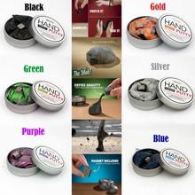 Купить с кэшбэком Cool!!! Handmade DIY Playdough Magnetic Rubber Mud Strong plasticine Putty Magnetic Clay  Education Novelty Toys  7 Colour