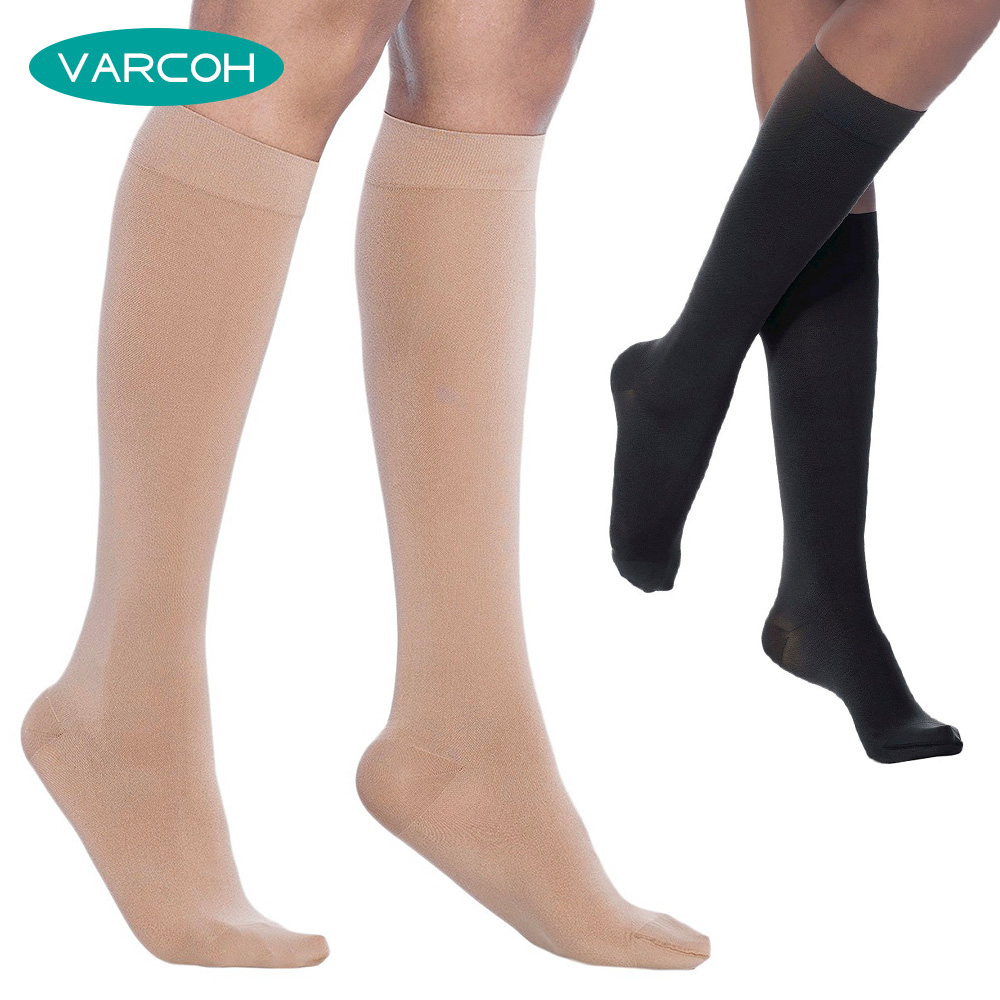 Knee High Compression Socks For Women & Men 30-40 MmHg - Best Medical,  Nursing, Hiking,Travel & Flight Socks-Running & Fitness