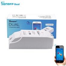 Sonoff Dual 2CH Wifi Smart Switch Home Remote Control Wireless Switch Universal Module Timer Wi fi Switch Smart Home Controller