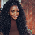 """8A Pre Plucked 360 Lace Frontal Closure With Adjustable 10-20"""" Malaysian Deep Wave 360 Lace Virgin Hair With Natural Hairline"""