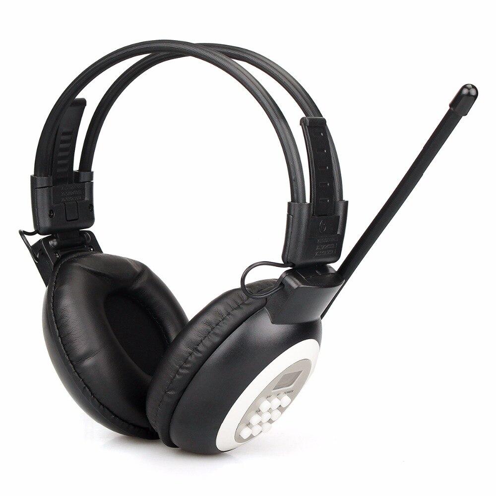 Auriculares de radio FM estéreo para auriculares auricular inalámbrico con pantalla LCD para gran reunión interpretación simultánea Y4440A