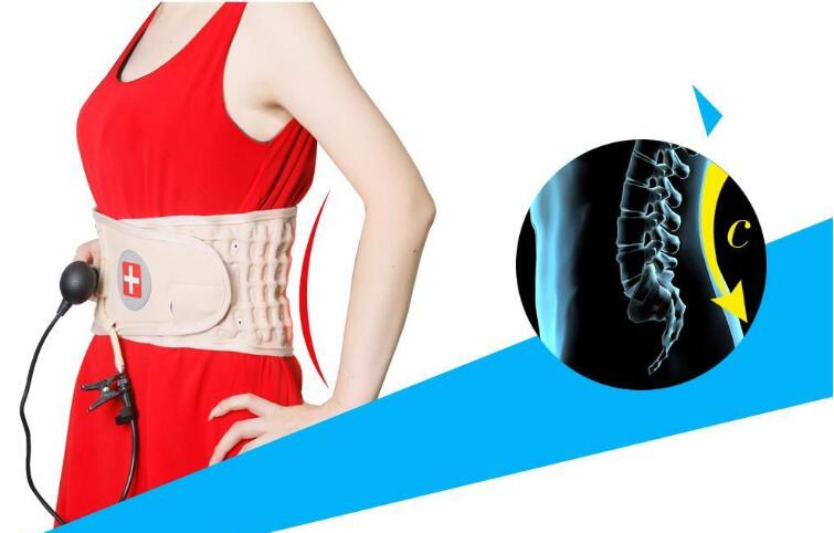 Pneumatic Traction Belt Lumbar Traction Device Waist Support Belt Spinal Air Traction Belt spinal air belt wait brace disc traction lumbar spine support