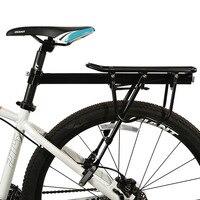 Bicycle Cargo Racks Rear Carrier Alloy MTB Bike Rack Seat Shelf Mountain Road Bicycle Carrier Luggage Shelf Cycling Bracket