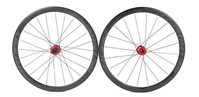 Road Bike Aluminum Four axis Disc Brake 700CWheel Set Six Claw Tower Hub Professional Riding Bicycle 30/40mm Wheels Rim
