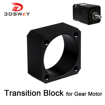 3D Printer Parts Transition Block for 42 Planetary Geared Motor E3D J-head Bulldog Extruder Bracket
