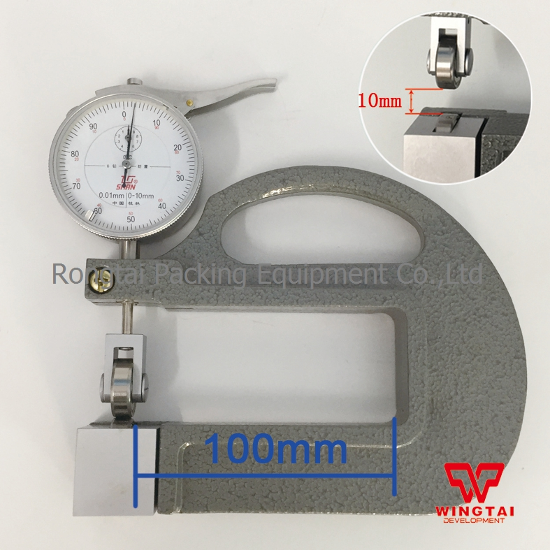 With Wheel 0.01mm Continuous Thickness Gauge For Leather,Paper 0-10mm mp620 mp622 mp625 projector color wheel mp620 mp622 mp625