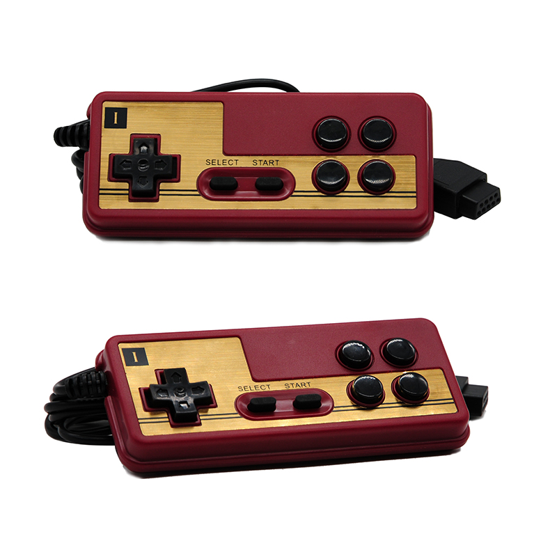 2018 Classic 9 pin Game Controller for the console's gamepad joystick TV Game player to start game 1 - Continuous Function 2num