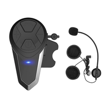 Motorcycle Bluetooth Headset,Bt-S3 1000M Helmet Communication Systems Ski Headphones Intercom Walki
