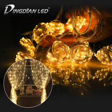 3*3m 300LEDS Curtain String Light Fairy Icicle LED Christmas Garland Wedding Party Patio Window Outdoor String Light Decoration beiaidi 3x0 65m heart shape curtain icicle led string light romantic xmas wedding party window curtain garland indoor lighting