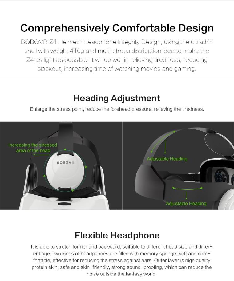 Original brand BOBOVR virtual reality 3D VR glasses near its territory Z4 best-selling Fit HD Large screen Smartphones 11