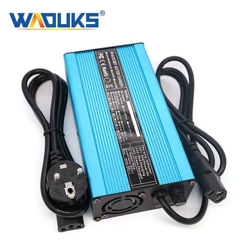42 в 4A умная литий ионная батарея зарядное устройство Выход: 42 в 4A DC для 10S 36V 37V электрический велосипед литиевая батарея Зарядные устройства    АлиЭкспресс