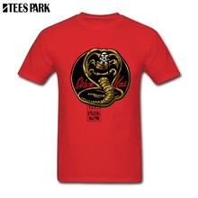 1edbd9b8 Cotton XS-XXXL Shirt Cobra Kai Gold Humorous T Shirts Adult Crewneck Short  Sleeved Clothing New Color Male For Mens Funny Tees