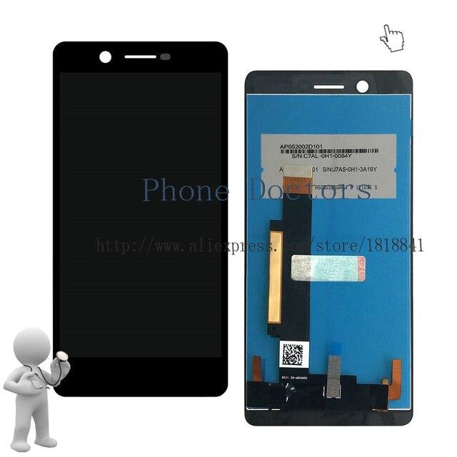 """5.2 """"מלא LCD תצוגה + מסך מגע Digitizer עצרת עבור Nokia 7 N7 TA-1041 TA-1046; חדש; שחור; 100% נבדק"""