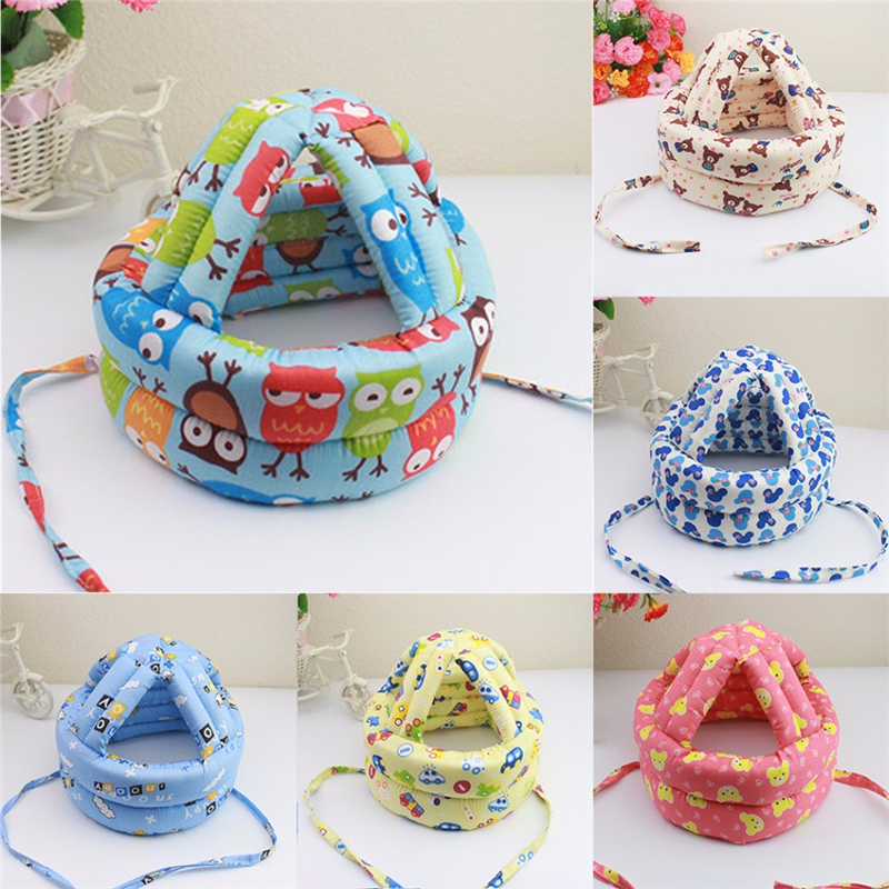 Helmet for Baby protective Baby Helmet Safety Learn to Walk Hat Safety Helmet Soft Comfortable Head Security Hat baby safety helmet toddler headguard hat protective infants soft cap adjustable for crawl walking running outdoor playing