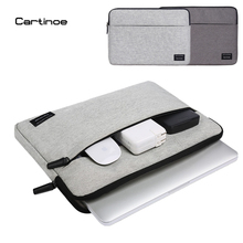 2017 Мода Cartinoe Ноутбук Сумка чехол для Ноутбука чехол для Macbook air pro сумка для Lenovo Dell HP 11 12 13 14 15.6 дюймов мешок