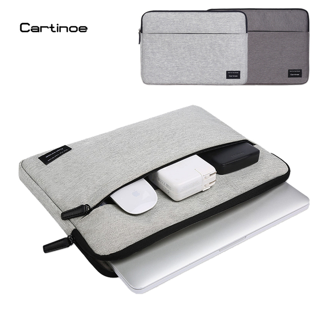 2017 Fashion Cartinoe Laptop Bag case Laptop Sleeve for Macbook air pro pouch bag for Lenovo Dell HP 11 12 13 14 15.6 inch bag