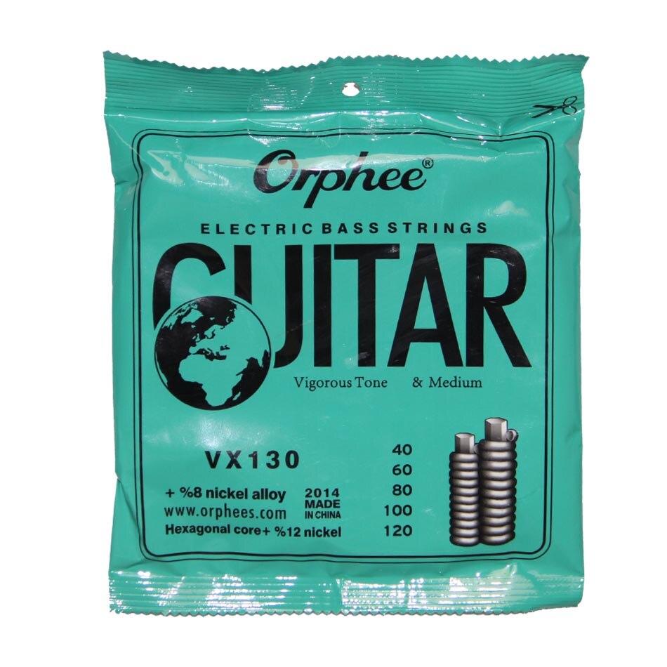 Set 4 pçs set Cordas Da Guitarra Baixo