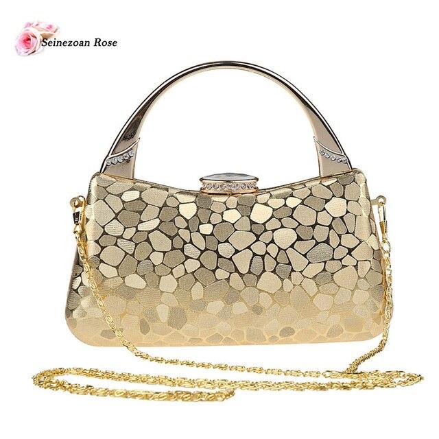 2016 Women's Flap Handle Handbags Purses Rhinestone Evening Bags Ladies Small Shoulder Messenger Bags sac a main bolsa feminina