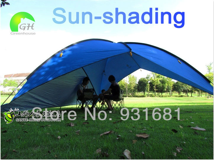 Marvelous 11.11 Portable Outdoor Large Awning Sun Shade Shelter Family Beach Picnic  Party Camping Tent Marquee Shade Shed In Tents From Sports U0026 Entertainment  On ...