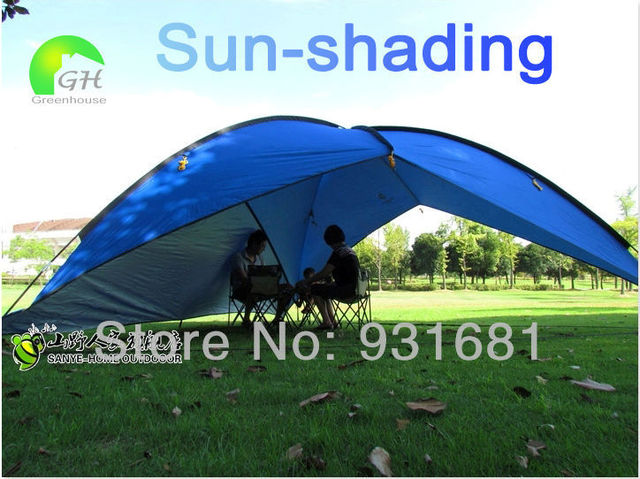 11.11 Portable Outdoor Large Awning Sun Shade Shelter Family Beach Picnic Party C&ing Tent Marquee Shade & 11.11 Portable Outdoor Large Awning Sun Shade Shelter Family Beach ...