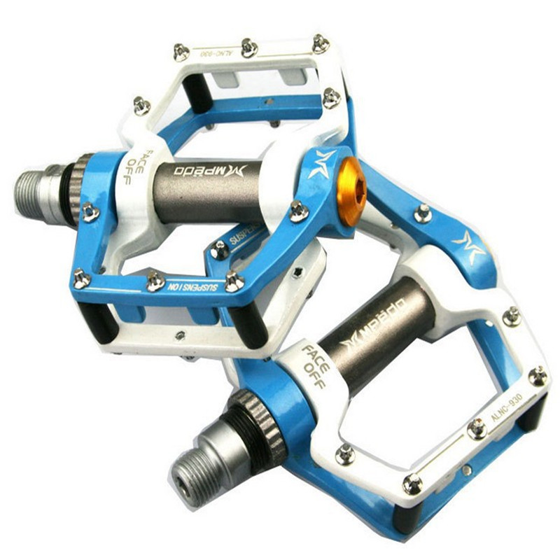 Q076 Cycling Pedals Dead Fly BMX Light Bicycle Pedals Foot Pegs Outdoor Sports DHCrank MTB Road Bike Cycling Bicycle Pedals