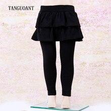 TANGUOANT Girls Skirt Pants Autumn Winter Girls Leggings with Skirt Girls Clothes Kids Trousers Children Leggings Pants for Girl
