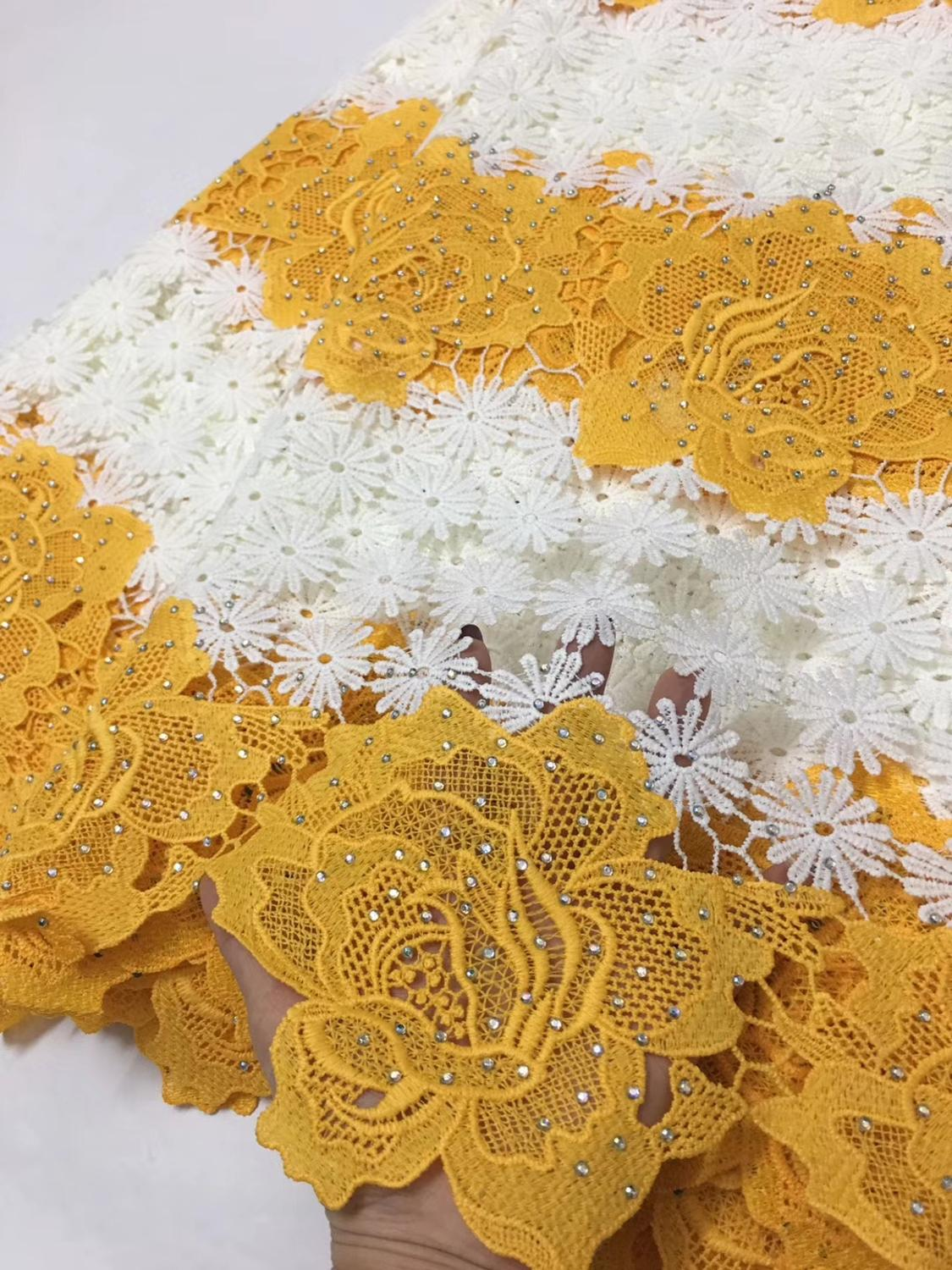 5yards High Quality African Lace Fabrics African Mesh Cord Lace Factory Price Guipure Lace Fabrics For Wedding    ELLAJUN0315yards High Quality African Lace Fabrics African Mesh Cord Lace Factory Price Guipure Lace Fabrics For Wedding    ELLAJUN031