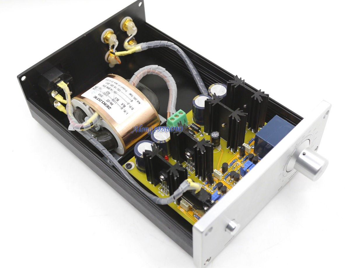 купить Hifi JC-2 Class A Full Symmetry FET Preamp CPI Parallel PSU Preamplifier по цене 4895.82 рублей