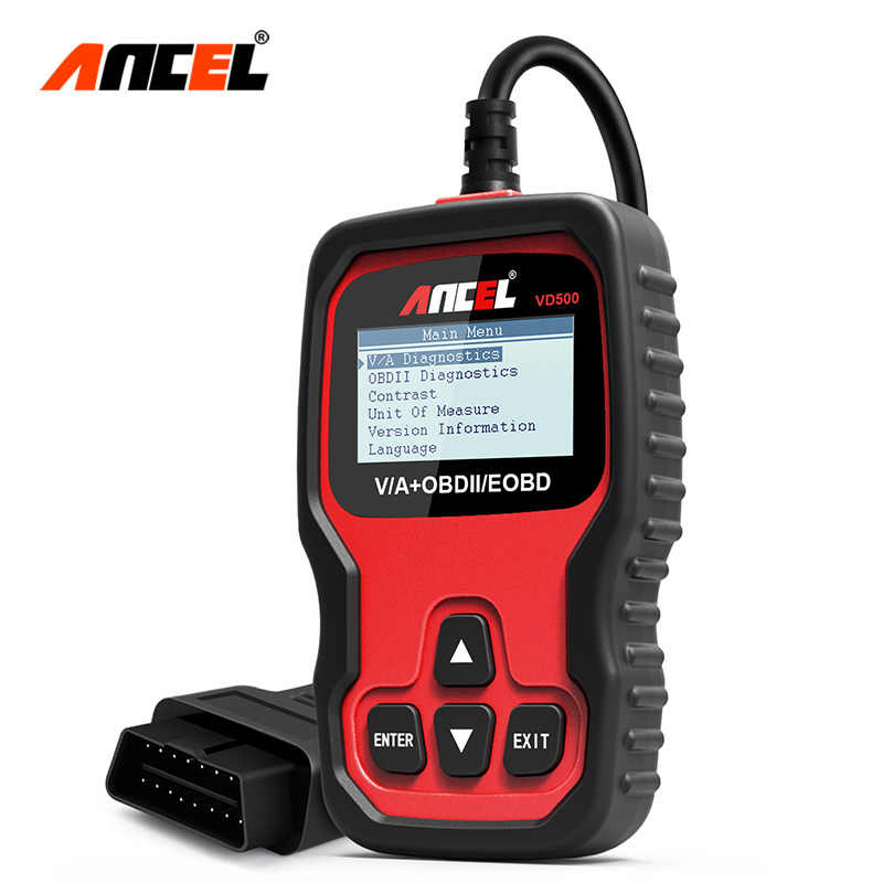Detail Feedback Questions about Ancel VD500 OBD2