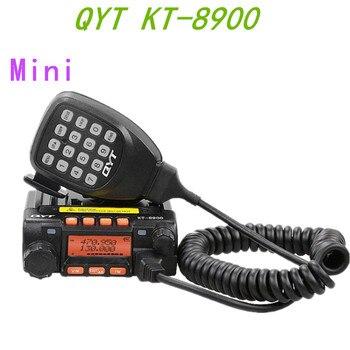 100% Original QYT KT-8900 largo alcance Mini Radio de coche de Radio móvil montado en vehículo transceptor