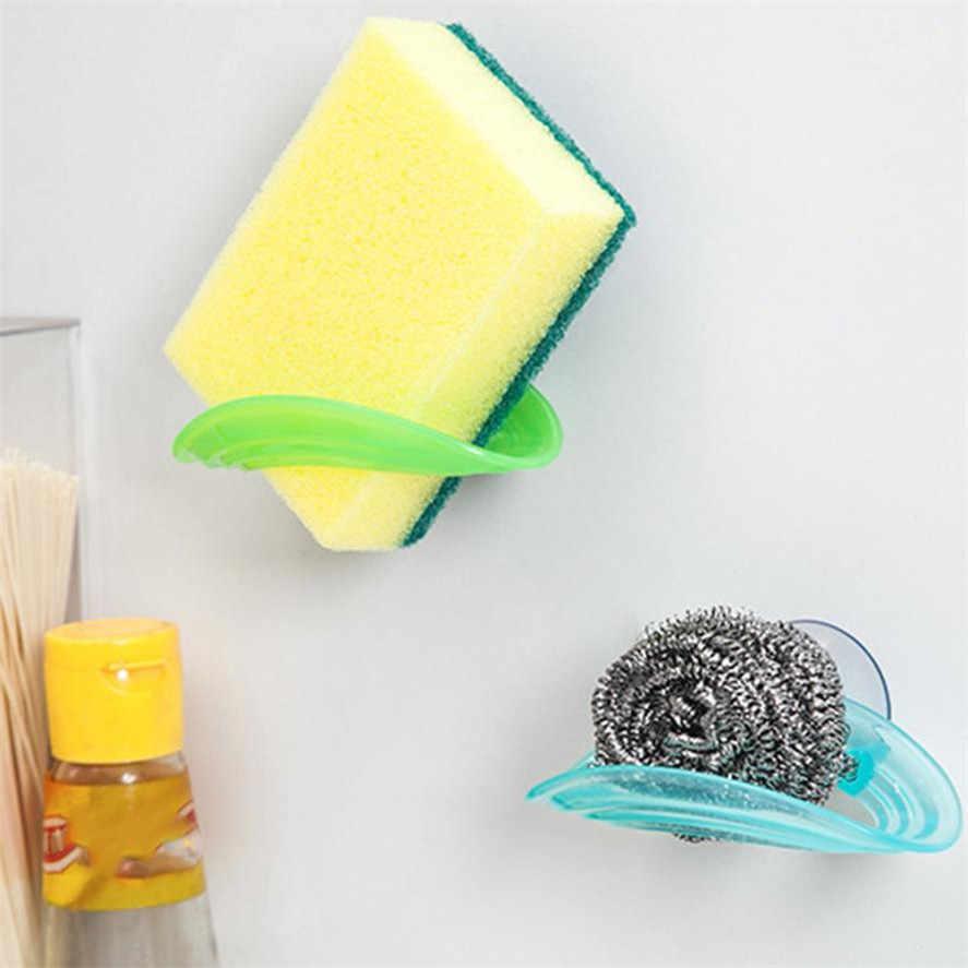 Губка держатель для кухонной раковины Ванная комната Ouneed 1 хранилище ПК держатели полотенце для протирки посуды стойка всасывающая губка держатель зажим вешалка для полотенец 20