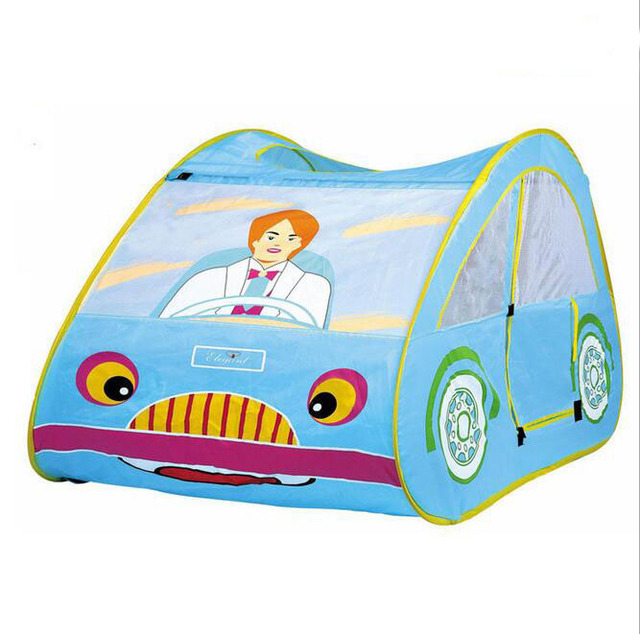 3028 Children Toys Car Play Tent Indoor Play House Outdoor Hut Children Toy Play  Tent