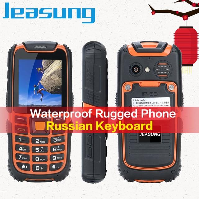 Commercio all\'ingrosso Jeasung S6 Mini Rugged Anziani Del Telefono Grande  Altoparlante Dual SIM Lungo Standby batteria. Multi Lingua con la Tastiera  ...