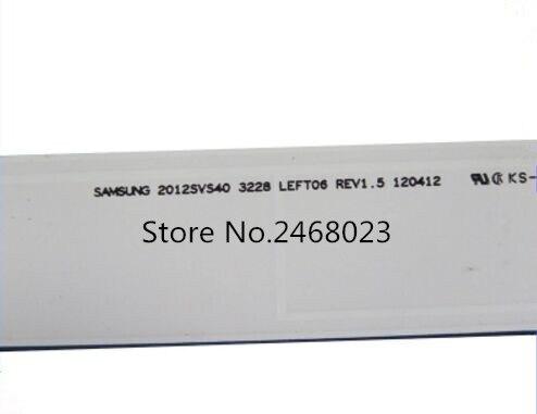 UN40EH6000 CY DE400BGSV1V Replacement LED Strips 2012SVS40 3228 LEFT06 REV1 5