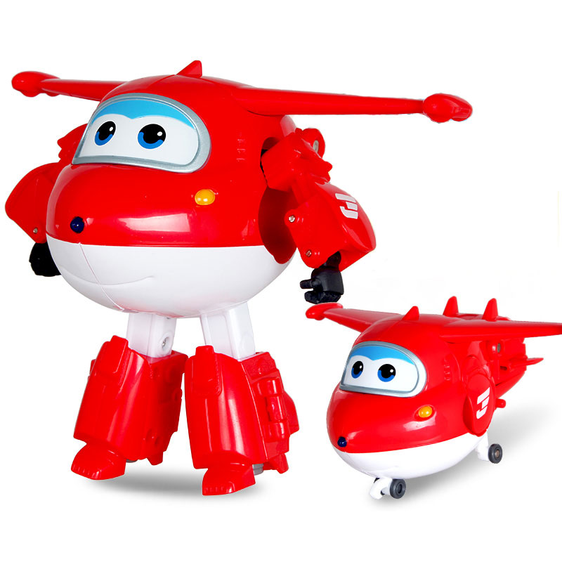 Transformation-Toys Robot Airplane Action-Figures Super-Wings Children Gift Brinquedos