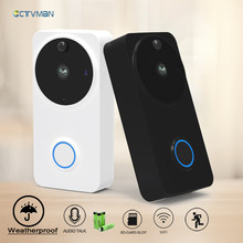 CTVMAN Video Doorbell Door Intercom Waterproof Door Phone Wifi Battery Wireless Doorphone For Apartment Outdoor Doorbell Camera(China)