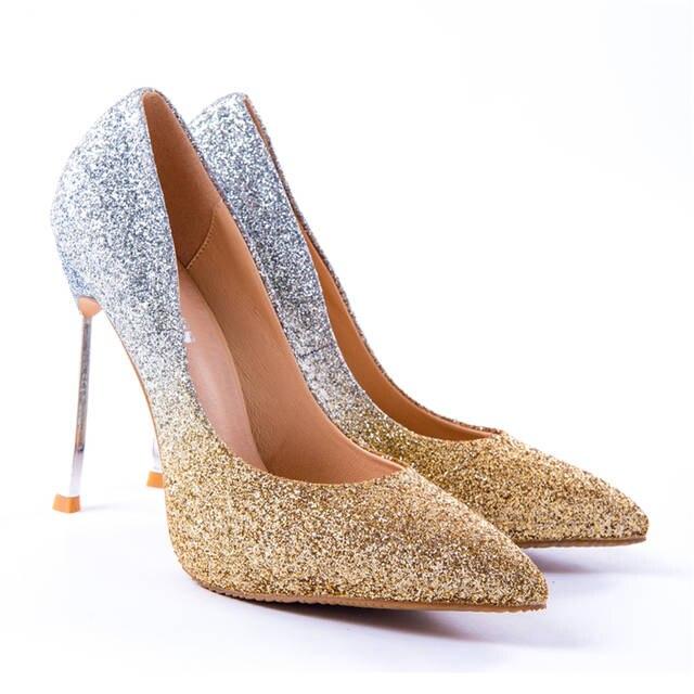 placeholder Craylorvans 12cm 10cm 8cm New Arrive Women High Heels Shoes Big  Size 43 Pointed 557c52dd4948