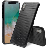 QIALINO Leather Bag Case For IPhone X Fashion Ultra Thin Genuine Leather Phone Cover For IPhone