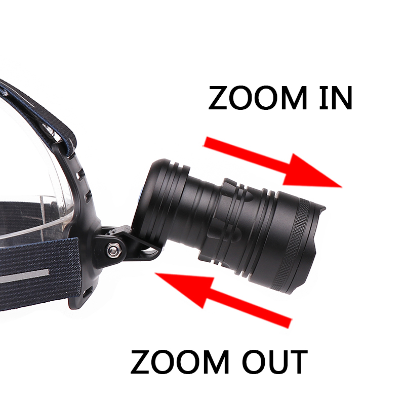 Z90 Litwod 2808 Original XLamp XHP70.2 LED 32W zoom Led headlamp 4292lm The best brightest powerful head lamp flashlight lantern