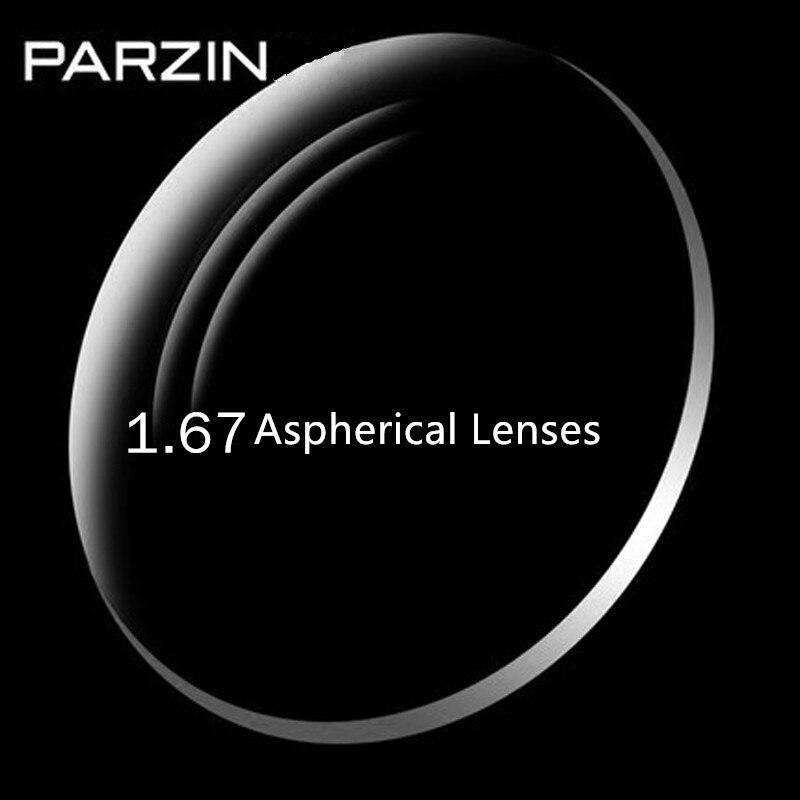 PARZIN 1.67 lentilles asphériques myopie RX lunettes Anti-UV lentille optique lunettes Prescription lunettes lunettes-0.25 --- 10.00 L07