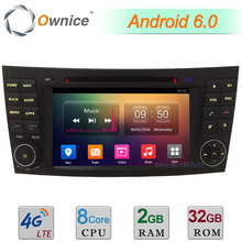 32GB ROM 4G Android 6.0 DAB 7″ Octa Core 2GB RAM USB Car DVD Player Radio For Benz CLS W219 CLS350 CLS500 CLS550 CLS55 CLS66 AMG