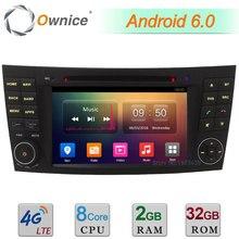 """32 GB ROM 4G Android 6.0 DAB 7 """"Octa Core 2 GB de RAM USB Reproductor de DVD de Radio Del Coche Para El Benz W219 CLS CLS350 CLS500 CLS550 AMG CLS55 CLS66"""